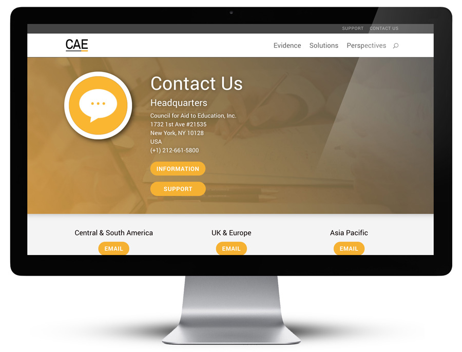 CAE Website Exclamation Communications Inc